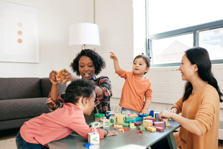 Set up a play date so your kid can practice their social skills.
