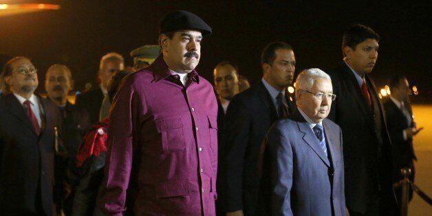President of Venezuela Nicolas Maduro arrives in Algiers, Algeria, on September 11, 2017. Mr. Maduro...