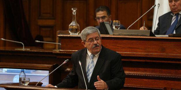 Ahmed Ouyahia au Conseil de la Nation le 27 septembre