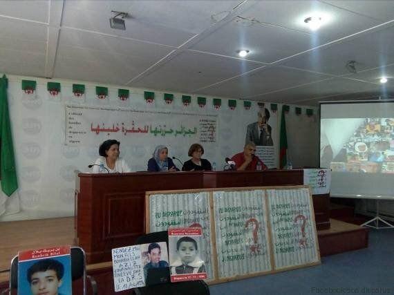 Les familles de disparus et de victimes du terrorisme ouvrent les journées contre