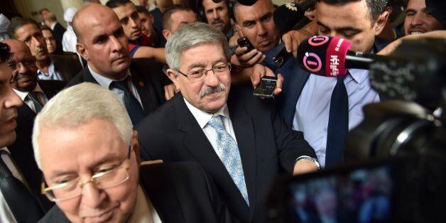 Ahmed Ouyahia à Alger, le 4 septembre