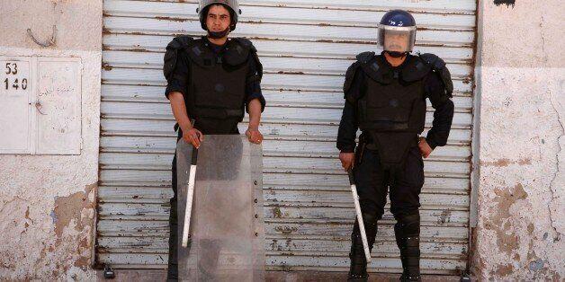 Affrontements de Berriane, wilaya de Ghardaia, 18 mai 2008. REUTERS/Zohra Bensemra