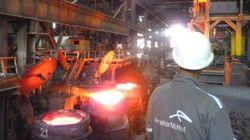 Reprise de la production au complexe sidérurgique d'El