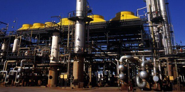 ALGERIA - JUNE 30: Oil companies In Algeria On June 30, 2008-NATEC is the first company of oil refinery...