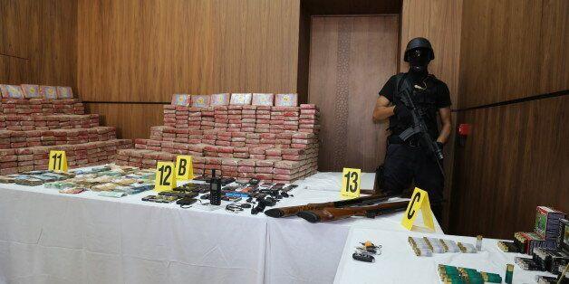 La valeur de la cocaïne saisie lundi par le BCIJ s'élevait à 2,75 milliards de