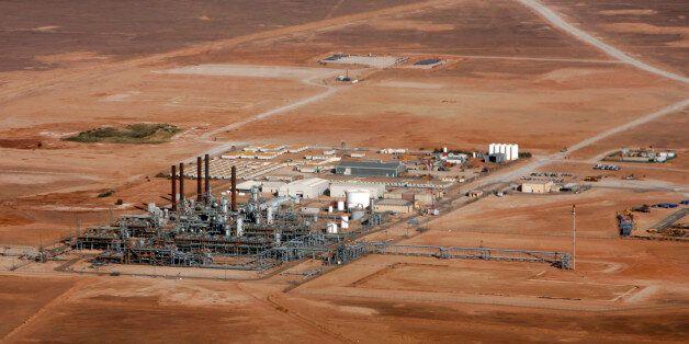 ALGERIA - DECEMBER 14: The In Salah Gas (ISG) Krechba Project, run by Sonatrach, British Petroleum (BP),...