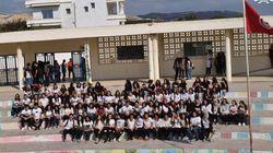 Refusant de porter le tablier, les élèves du lycée pilote de Bizerte crient à la