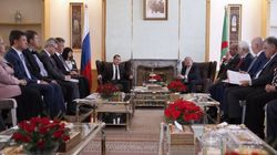 Algérie-Russie: signature de cinq accords de