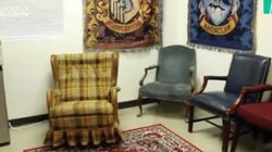 Ce prof fan d'Harry Potter a transformé sa salle de