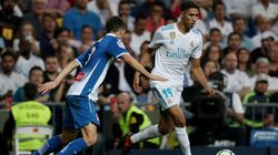 Zinedine Zidane salue la première titularisation de Achraf Hakimi sous les couleurs du Real