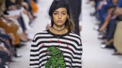 Pendant les fashion weeks européennes, la mannequin d'origine marocaine Nora Attal était