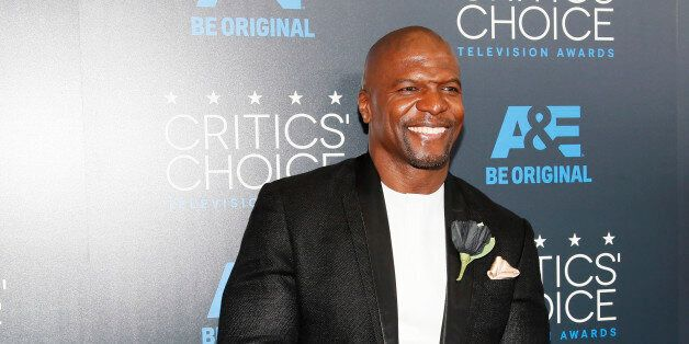 Actor Terry Crews arrives at the 5th Annual Critics' Choice Television Awards in Beverly Hills, California...