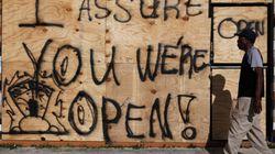 Avant d'évacuer la Floride, les habitants ont un message à faire passer à