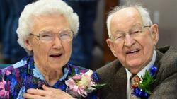 Irma et Harvey habitent à côté de Seattle et ont fêté leurs 75 ans de