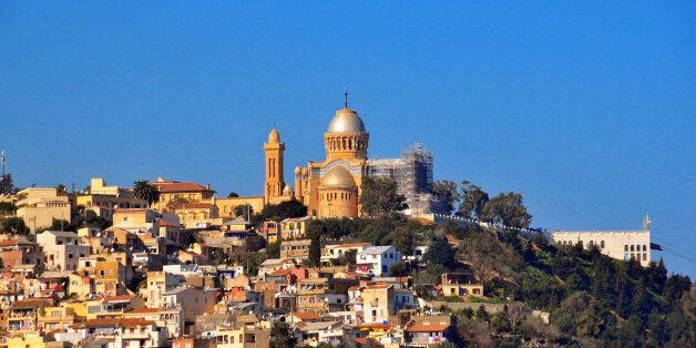 Algiers, Algeria: Our Lady of Africa Catholic basilica, built on the hill above the Bologhine area -...