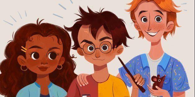Une Hermione noire affole à nouveau les
