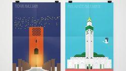 Quand un web designer illustre avec humour la rivalité Casablanca vs