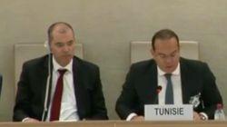 Mehdi Ben Gharbia retrace l'histoire de la Tunisie devant le Conseil des droits de l'Homme