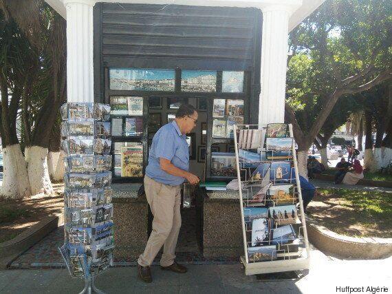 Dans le kiosque de Zinedine Zebar plus que des images, la vie qui les