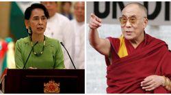 Rohingyas: Le Dalaï Lama appelle Aung San Suu Kyi à trouver une solution