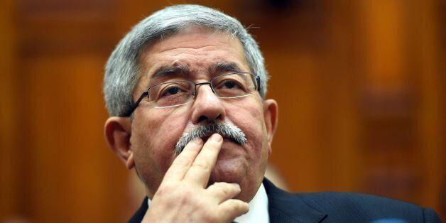 Ahmed Ouyahia au Sénat, le 4 septembre