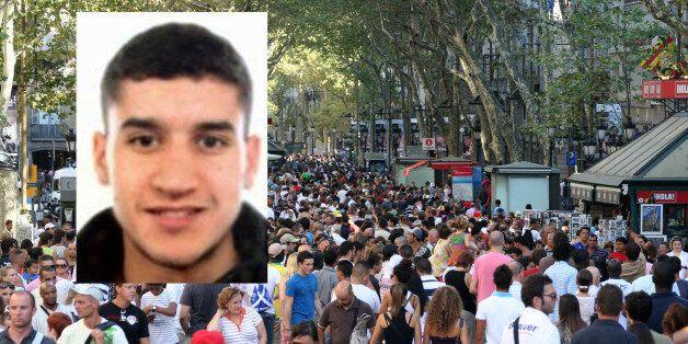 Une vidéo montre l'auteur de l'attentat de Barcelone prenant calmement la