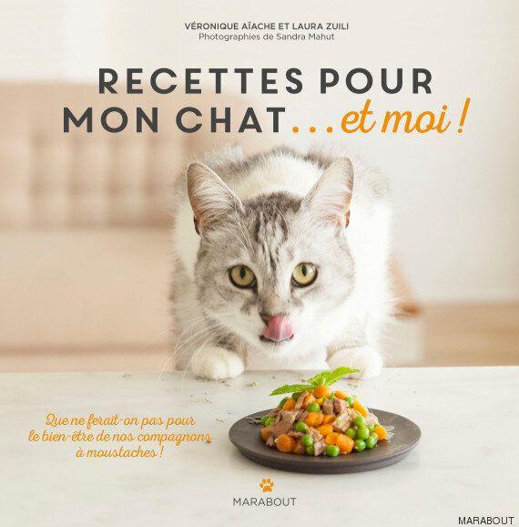 Ce livre de recettes vous permet de cuisiner pour votre chat et pour vous en même