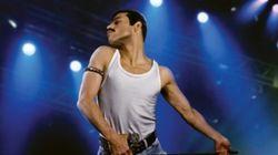 La première photo de Rami Malek en Freddie Mercury est à couper le