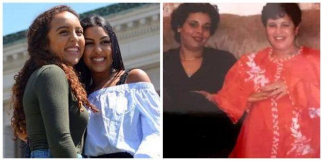 Deux amies marocaines qui s'étaient perdues de vue se retrouvent par hasard grâce à leurs