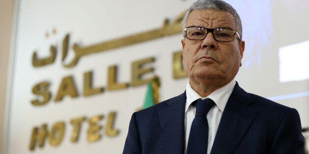 Amar Saadani Chief Of FLN in Algiers, on December 8, 2015. (Photo by Billal Bensalem/NurPhoto) (Photo...