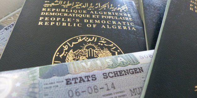 Visas d'entrée en France pour les Algériens: mesures d'allègement