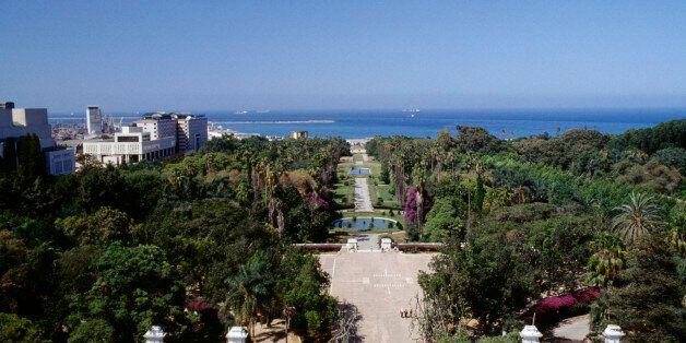 ALGERIA - MAY 05: View of the Botanical Garden of Hamma (Jardin d'essai du Hamma), Algiers, Algeria....