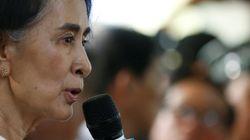 En Birmanie, Aung San Suu Kyi dénonce