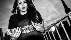 La rappeuse maroco-hollandaise Nanah Dae en concert au festival L'Boulevard