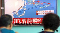 La Corée du Nord tire un missile au dessus du
