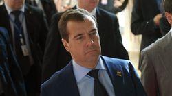 Visite du Premier ministre russe Dmitri Medvedev à Alger le 10 octobre