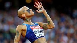 Le look de cette athlète n'est pas passé inaperçu aux mondiaux de