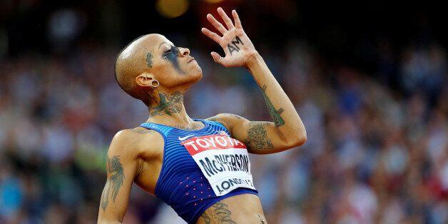 Athletics - World Athletics Championships – women's high jump final – London Stadium, London, Britain...
