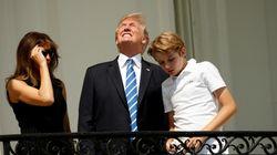 Il y avait une seule chose à ne pas faire pendant l'éclipse... et Trump l'a