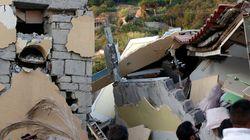 Deux morts et deux enfants en vie sous les décombres après un séisme sur un île en face de