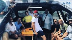 Quand Jamel Debbouze, Kev Adams et l'équipe d'Alad'2 s'offrent un week-end de folie à