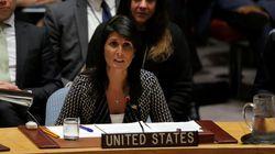 L'ONU, unanime,