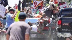 Etats-Unis : Une voiture percute des manifestants anti-racisme, au moins un mort et plusieurs