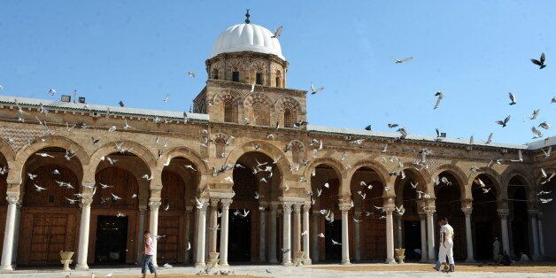 Picture taken on September 5, 2010, of Zitouna mosque, also called the mosque of the olive tree,the main...