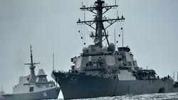 Collision au large de Singapour: 10 marins d'un destroyer américain portés