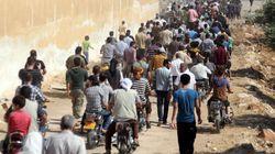 Dans l'est syrien, on fuit en masse le recrutement forcé par