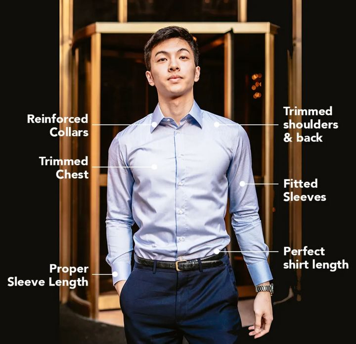 Nimble Made's shirts have a few distinctive features that set them apart from traditional menswear retailers' shirts.