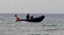 4 marins pêcheurs secourus par une unité des Garde-Côtes à
