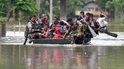 Des inondations en Inde, Népal et Bangladesh font au moins 165