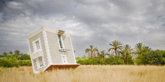 Jean-François Fourtou, Tombée du ciel, 2011. © de l'artiste. Courtesy of Galerie Mitterrand,